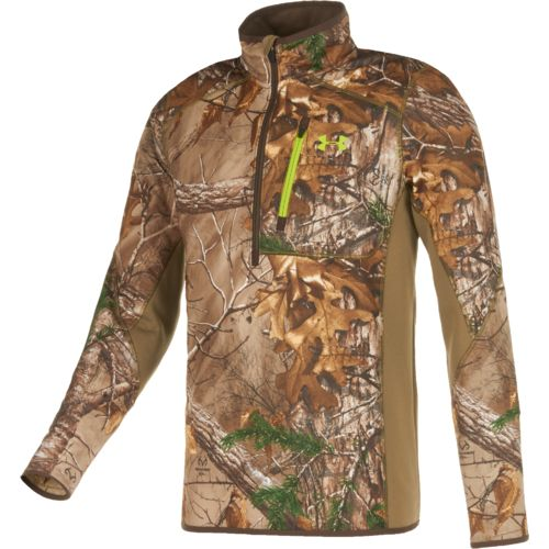 Under Armour™ Men's 1/4 Zip Long Sleeve Hunting Shirt