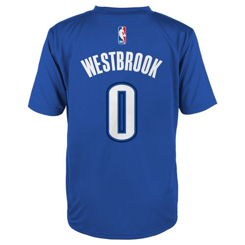adidas Boys' Oklahoma City Thunder Russell Westbrook No. 0 Player T-shirt