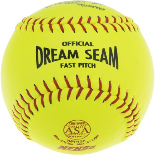 Rawlings Dream Seam 12 in Fast-Pitch Softballs 2-Pack