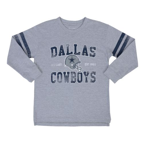 Display product reviews for Dallas Cowboys Boys' Newton Long Sleeve T-shirt
