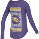 Chicka-d Women's Louisiana State University Favorite V-neck Long Sleeve T-shirt
