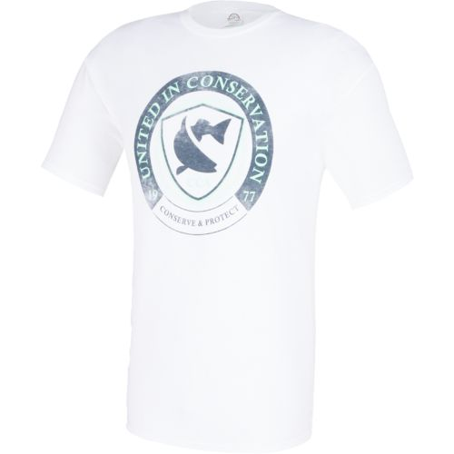 Display product reviews for CCA Men's Circle Shield Logo T-shirt