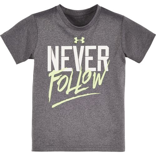 Under Armour™ Boys' Never Follow Short Sleeve T-shirt