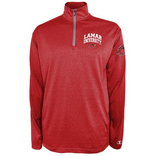 Champion™ Men's Lamar University Victory 1/4 Zip Pullover - view number 1