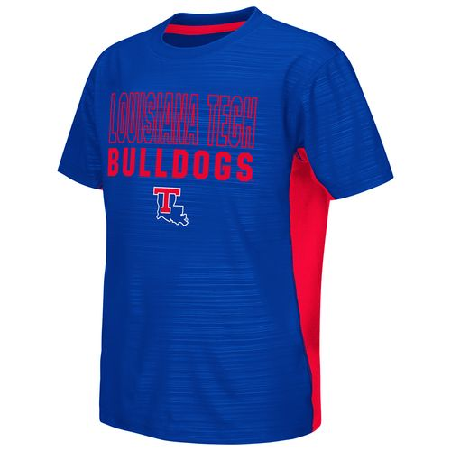 Colosseum Athletics™ Youth Louisiana Tech University In the Vault Cut and Sew T-shirt - view number 1