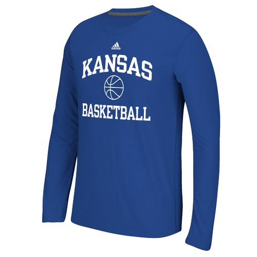 adidas™ Men's University of Kansas Basketball Ultimate Long Sleeve T-shirt