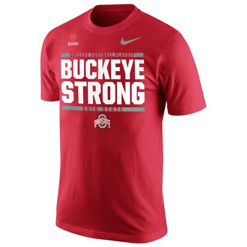 Nike Men's Ohio State University 2017 Playoff Bound Buckeye Strong T-shirt