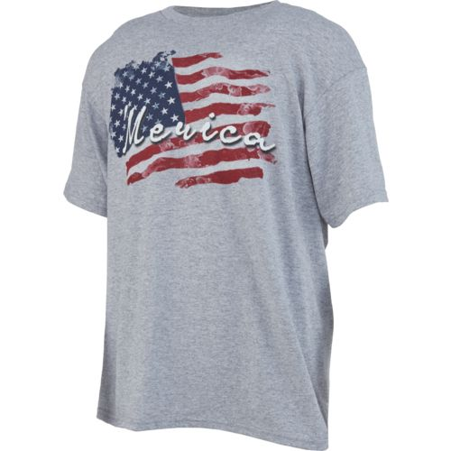 Academy Sports + Outdoors Boys' Wavy Flag T-shirt
