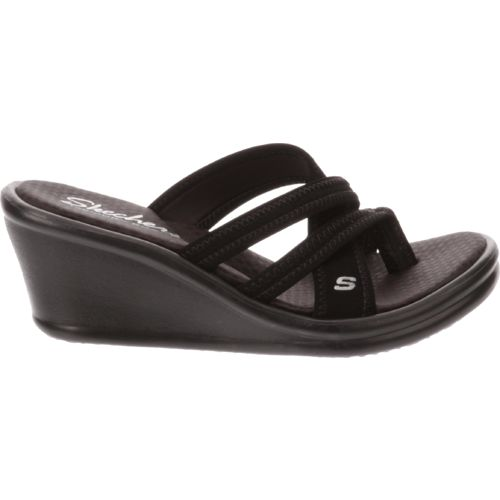 SKECHERS Women's Rumblers Young At Heart Wedge Sandals
