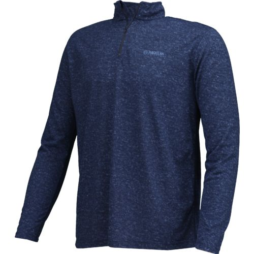 Magellan Outdoors Men's PolyHD Long Sleeve 1/4 Zip Pullover