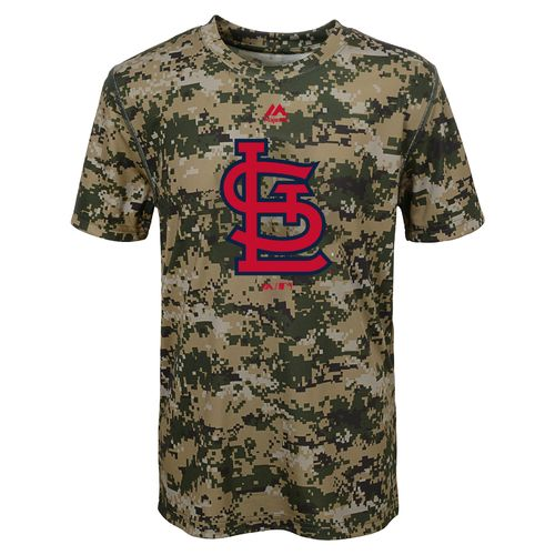 MLB Boys' St. Louis Cardinals Digi Camo T-shirt