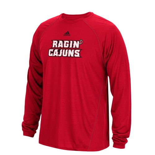 adidas Men's University of Louisiana at Lafayette Sideline Spine T-shirt