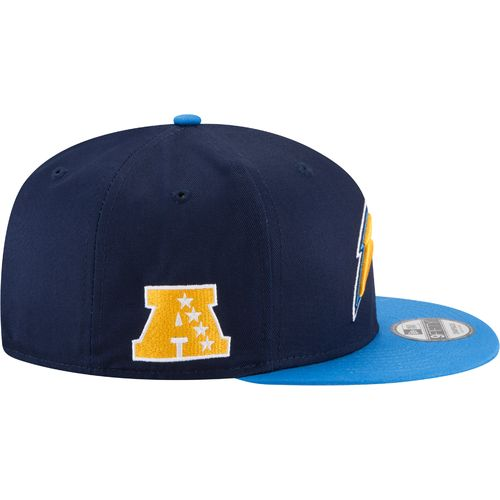New Era Men's San Diego Chargers 9FIFTY Baycik Snapback Cap - view number 5