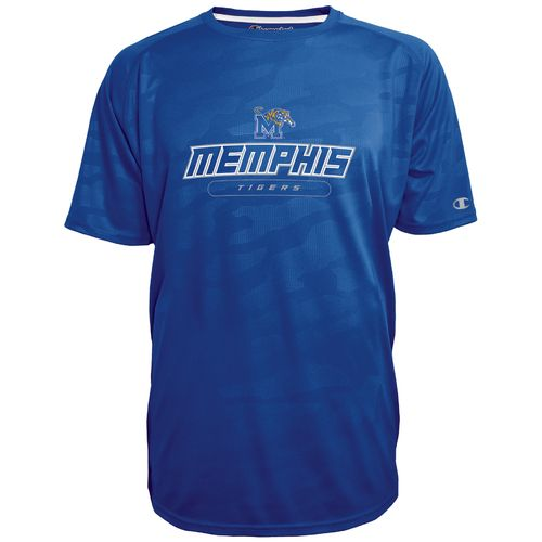 Champion™ Men's University of Memphis Impact Embossed T-shirt