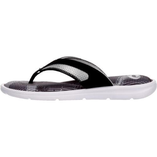 Display product reviews for O'Rageous Women's Abstract Memory Thong Sandals