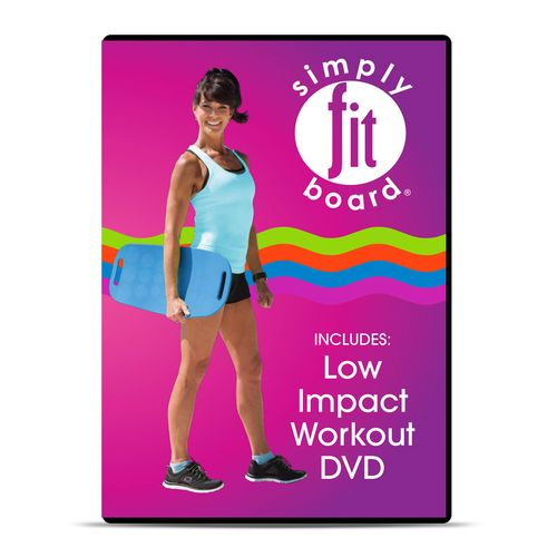 Simply Fit Board Low Impact Workout DVD