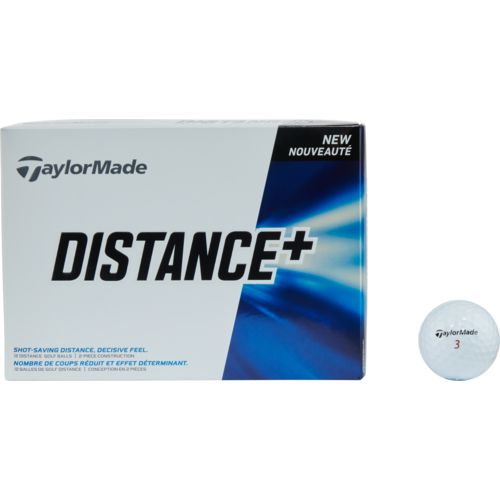 TaylorMade Distance+ Golf Balls 12-Pack