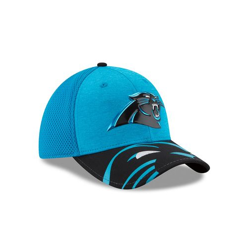 New Era Men's Carolina Panthers 39THIRTY NFL17 On Stage Cap - view number 3