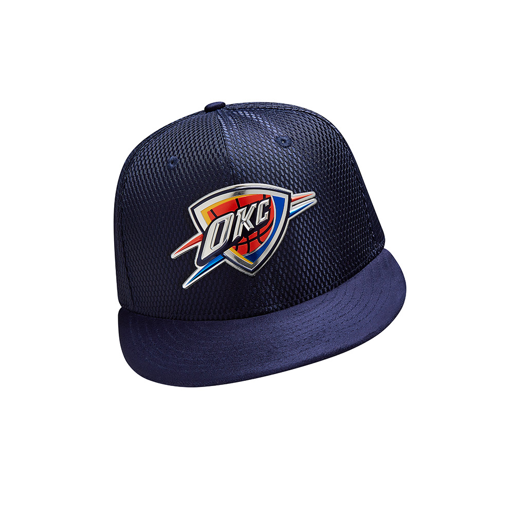 New Era Men's Oklahoma City Thunder 59FIFTY Team On Court Cap