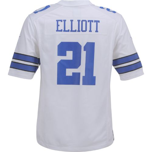 Display product reviews for Nike™ Men's Dallas Cowboys Ezekiel Elliott #21 Replica Game Jersey