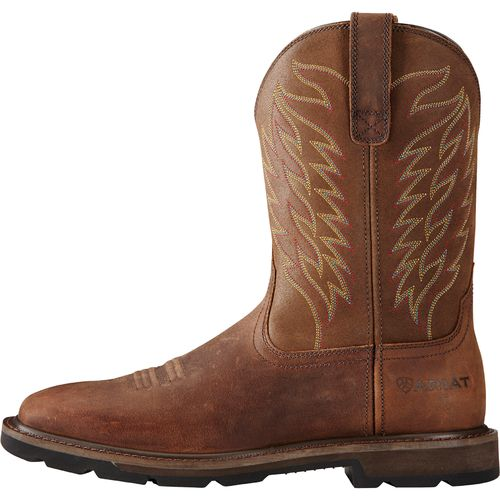 Display product reviews for Ariat Men's Groundbreaker Square Toe Work Boots