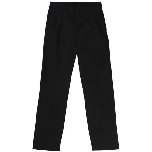 French Toast Boys' Adjustable Waist Pleated Double Knee Pant