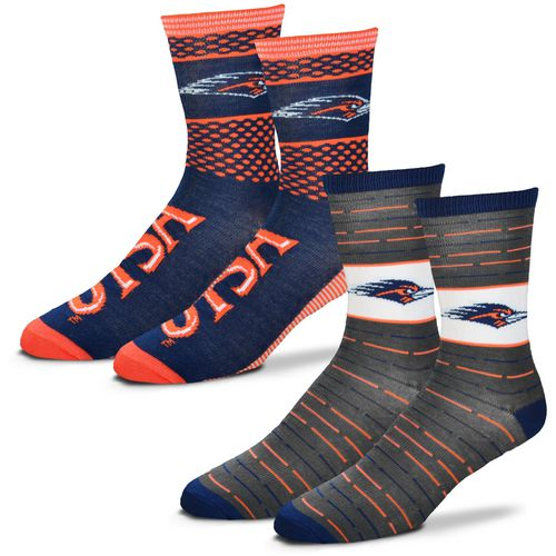 For Bare Feet Men's University of Texas at San Antonio Father's Day Socks