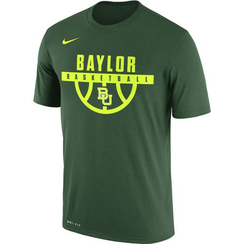 Nike Men's Baylor University Dry Legend Basketball Short Sleeve T-shirt