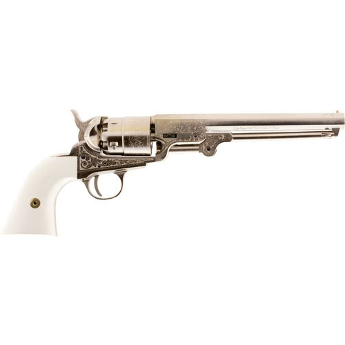 Traditions 1851 Navy Engraved .44 Black Powder Revolver