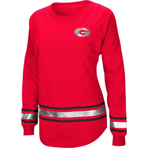 Colosseum Athletics Women's University of Georgia Humperdinck Oversize Long Sleeve T-shirt