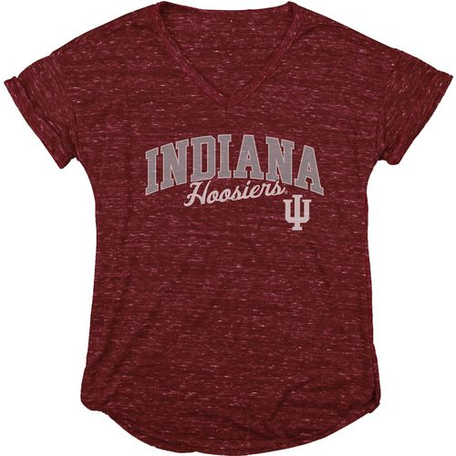 Blue 84 Women's Indiana University Dark Confetti V-neck T-shirt - view number 1