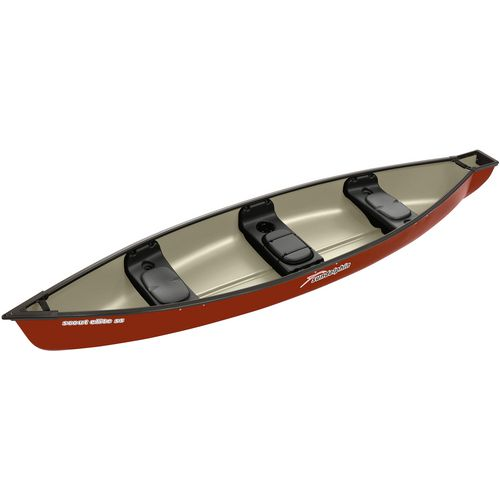 Sun Dolphin Scout Elite 14 ft 3-Person SS Canoe - view number 2