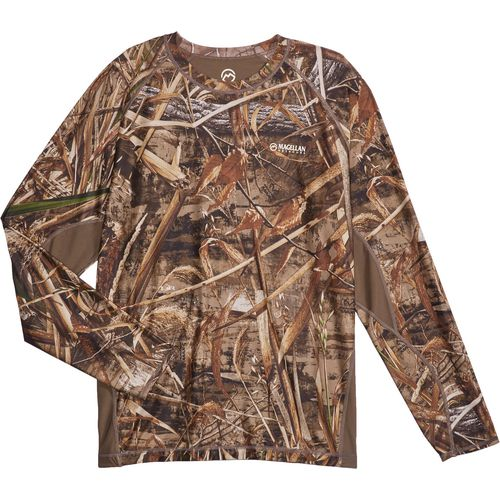 Magellan Outdoors Men's Eagle Bluff Long Sleeve Reversible Shirt - view number 5