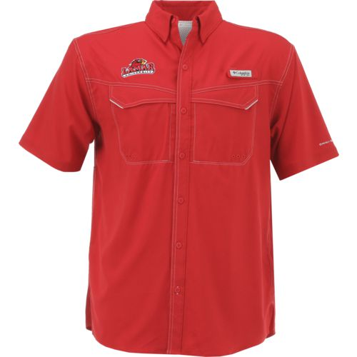 Columbia Sportswear Men's Lamar University Low Drag Offshore Short Sleeve Shirt