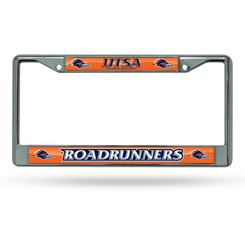 Rico University of Texas at San Antonio Chrome License Plate Frame