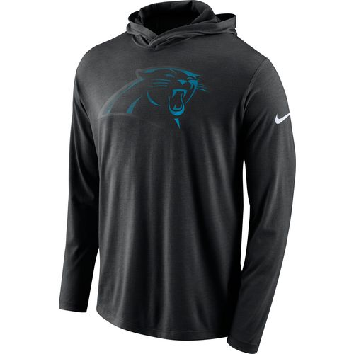 Nike Men's Carolina Panthers Dri-Blend Hoodie T-shirt