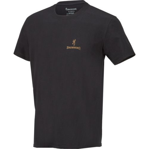 Browning Men's Wooded Buckmark T-shirt - view number 3