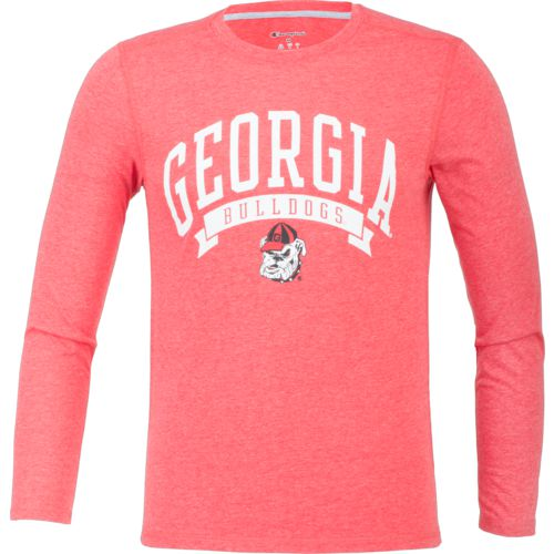 Champion Men's University of Georgia In Pursuit Long Sleeve T-shirt