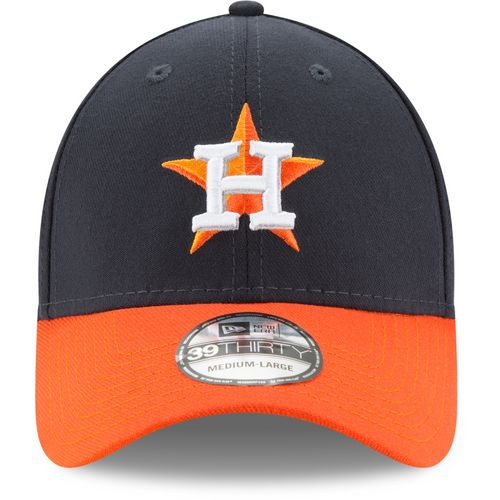 New Era Astros Road World Series 3930 Side Patch Fitted Cap