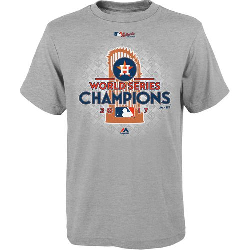 Majestic Kids' Astros 2017 World Series Champions T-Shirt