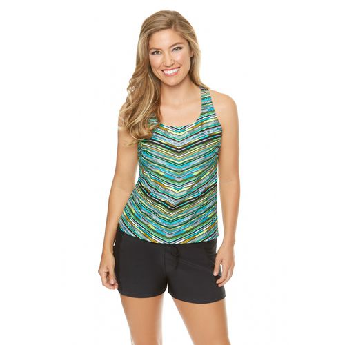 BCG Women's Lake Arrowhead Tankini Swim Top