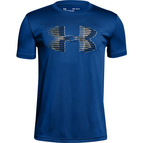 Under Armour Boys' Tech Big Logo Short Sleeve T-shirt