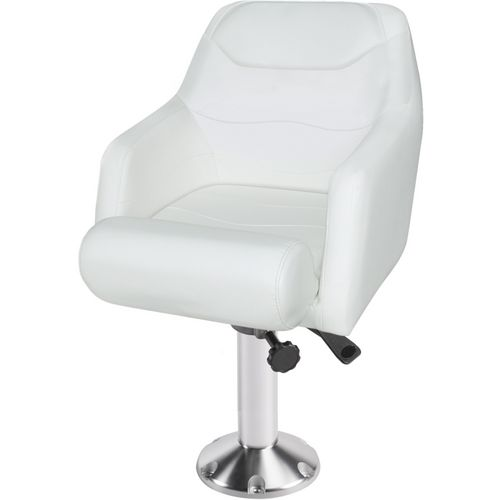 Wise Deluxe Bolster Bucket Seat with Fixed Pedestal