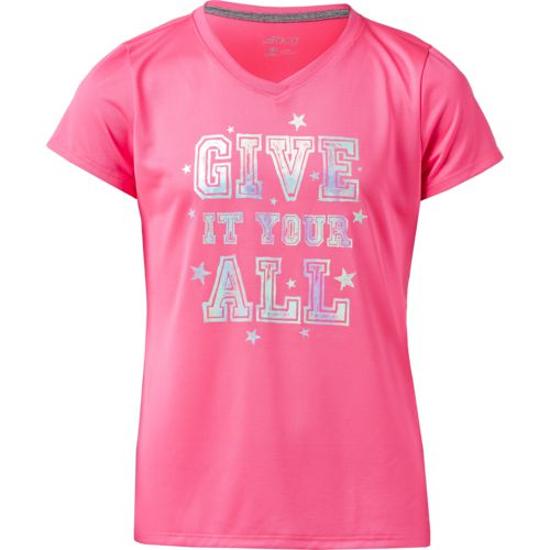 BCG Girls' Give It Your All T-shirt
