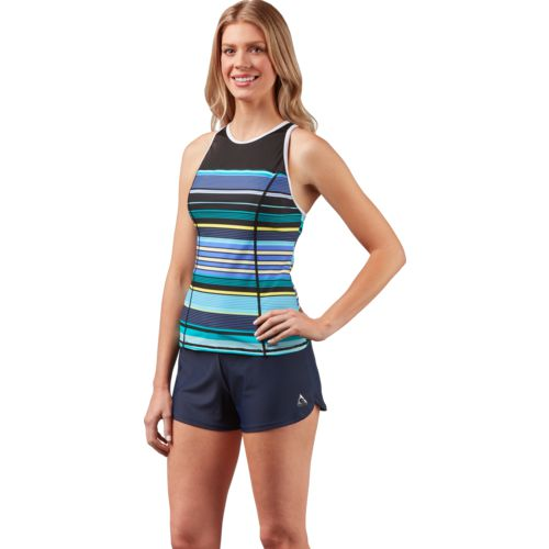 Gerry Women's Race High-Neck Tankini Swim Top