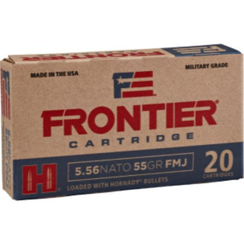 Hornady Frontier .223 Remington 55-Grain Centerfire Rifle Ammunition
