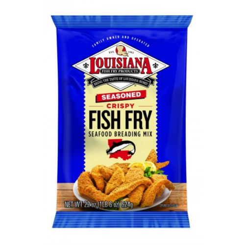 Louisiana Fish Fry Products 22 oz Seasoned Fish Fry Breading Mix - view number 1