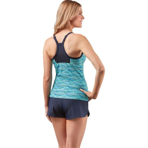 Gerry Women's Code Mesh Block Tankini Swim Top - view number 2