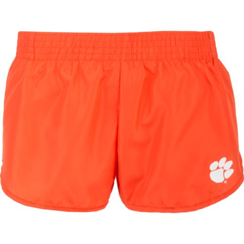 Colosseum Athletics Women's Clemson University Reflective Logo Shorts