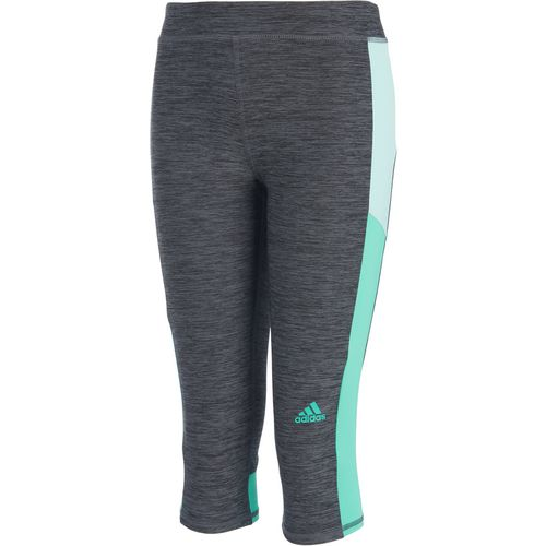 adidas Girls' climalite Match Point Mélange Capri Tights
